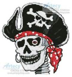 skeleton pattern in casting animation pirate skeleton cross stitch pattern small