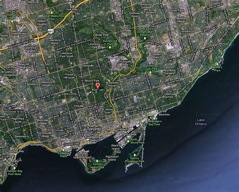 satellite map view rosedale real estate