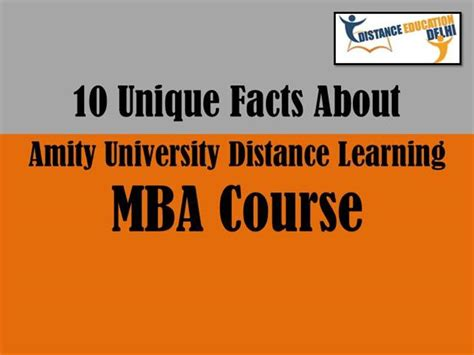 Unique Mba Programs In India by 10 Unique Facts Of Mba Course From Amity