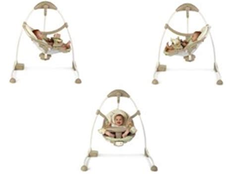 ingenuity cradle and sway swing ingenuity signature edition cradle sway swing shiloh