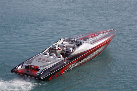 powerboat boat ship race racing superboat custom cigarette - Offshore Cigarette Boats