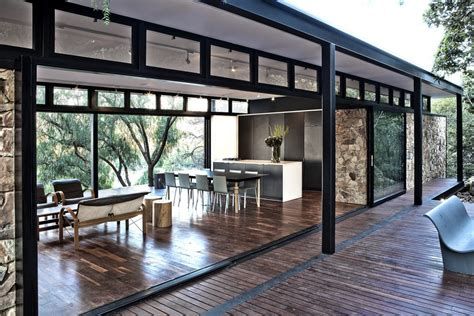 steel framed house design inspiration floating structure