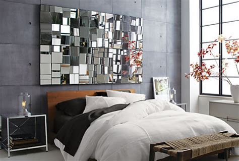 cb2 bedroom ideas over the bed perspective mirrors 6 x mirrors from cb2