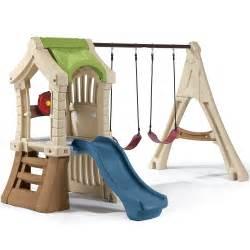 Treehouse Social Club - play up gym set kids swing set step2
