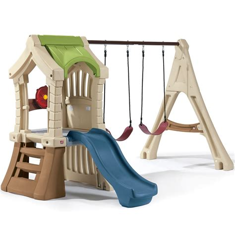2 step swing set play up gym set kids swing set step2