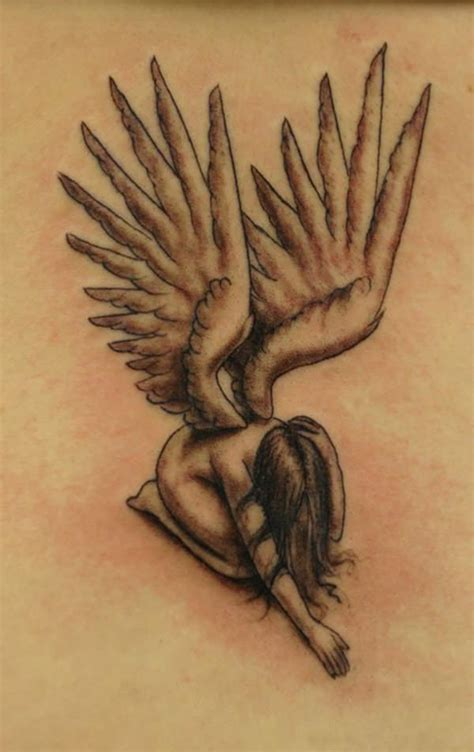 fallen angel tattoo meaning 51 exquisite designs to consider for your next