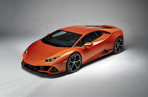 lamborghini huracan evo updated  supercar