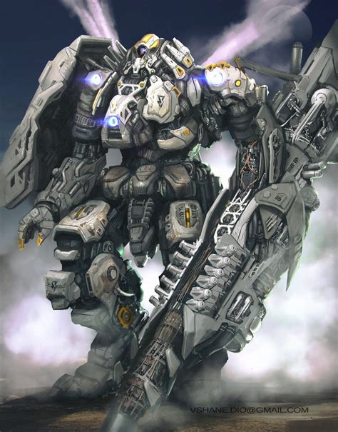 what is mecha mecha in the mist by v shane on deviantart