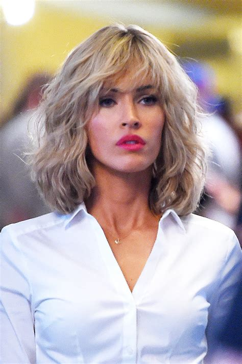 is megan kellys hair really blonde megan fox with blond hair megan fox might be even hotter