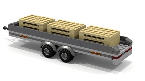 lego truck and trailer instructions www pixshark - Lego Boat And Trailer Instructions