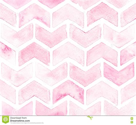 pattern in pink color chevron of light pink color on white background