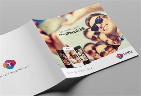 Tempey Digital Product Catalog Brochure Templates On Creative Market Digital Catalog Template