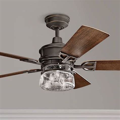 kichler outdoor ceiling fans 52 quot kichler lyndon patio olde bronze outdoor ceiling fan