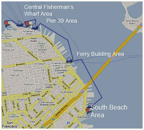 san francisco harbour map socketsite port of san francisco to issue water taxi