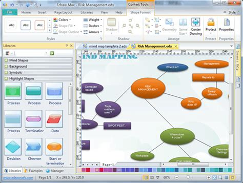 word diagram maker diagram drawing software see exles and templates