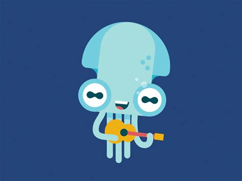 animation move layout octo animated gifs on behance