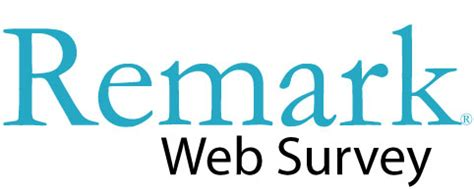 Web Survey Tools - remark web survey 183 remark software