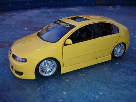 pego car seat seat leon cupra r burago diecast model car 1 18 buy sell