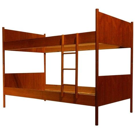 mid century modern twin bed westnofa teak twin bunk bed norway mid century modern