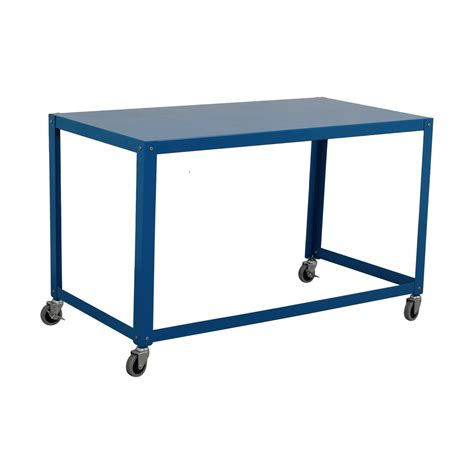 go cart rolling desk 63 cb2 cb2 go cart rolling desk tables
