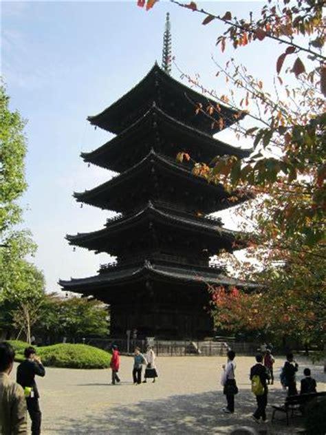 Rinn Toji Kyoto Japan Asia tallest pagoda in japan picture of toji temple kyoto