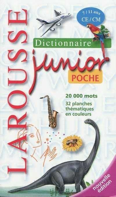 Dictionnaire Larousse Junior Poche 7 11 Ans Jeunesse