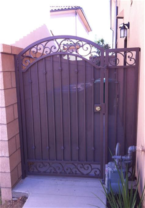 wooden gates for side of house ornamental wrought iron gates angels ornamental iron gallery orange county ca