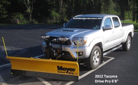 Snow Plow For Toyota Tacoma Smith Brothers Services Toyota Tacoma Meyer Drive Pro 6