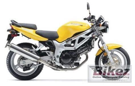 2002 Suzuki Sv650 Specs 2002 Suzuki Sv 650 Specifications And Pictures