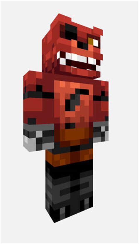 Pdf All Five Nights At Freddys Minecraft Skins by Five Nights At Freddy S Minecraft Foxy The Pirate Skin