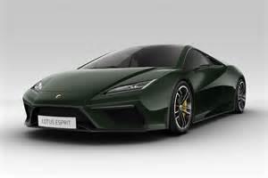 Lotus Models Auto Trend Show Lotus Unveils New Esprit Elan