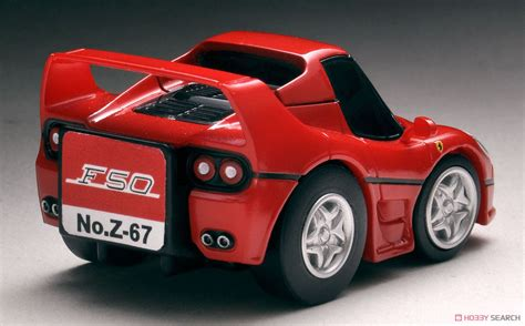 tomytec joy hobby car choro  zeroz  ferrari  red