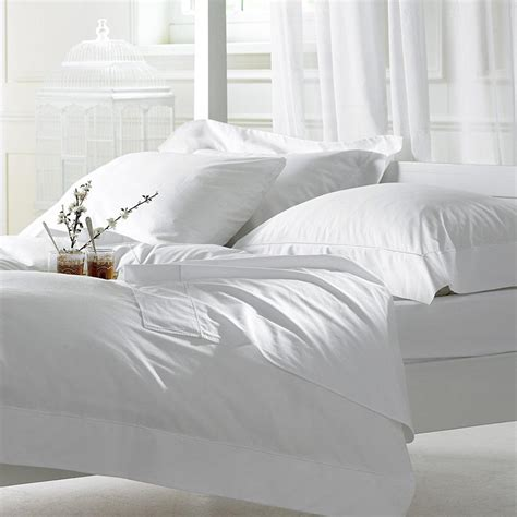 Bed Sheet Materials | wholesale plain white cotton fabric for bed sheet pillow