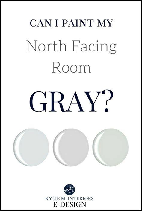 paint  north facing room gray  gray paint