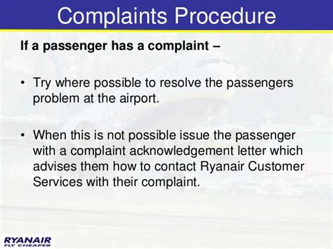 Complaint Letter To Airline Passenger Modul 6 Baggage
