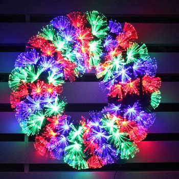 fiber optic garland hanging led fiber optic garland for outdoor decoration buy fiber optic