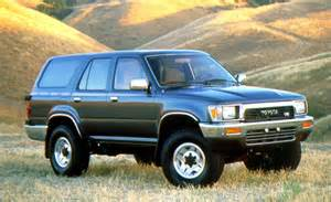 1991 Toyota 4runner Car And Driver