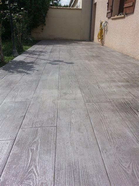 terrasse beton les 25 meilleures id 233 es de la cat 233 gorie terrasse beton sur