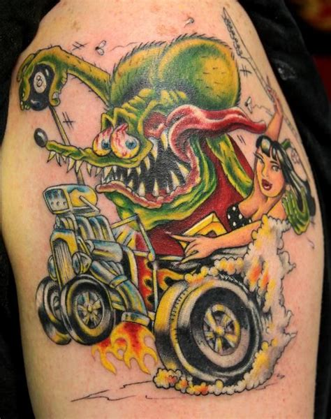 rat fink tattoos 23 best images about rat finks on order form