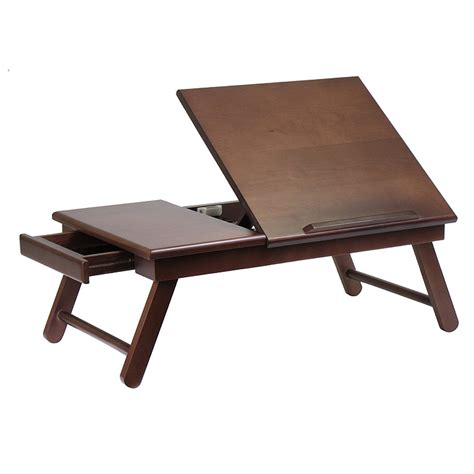 Laptop Desk With Storage Folding Desk Hostgarcia