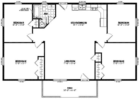 Certified Homes Pioneer Certified Home Floor Plans 28 X 48 House Plans