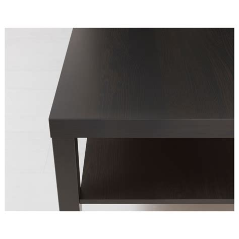lack coffee table black brown 118x78 cm ikea