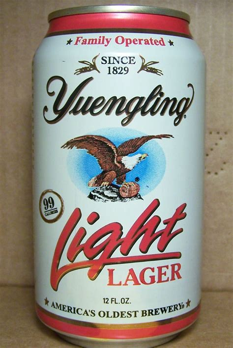 Yuengling Light Lager by Yuengling Light Beers Bronze