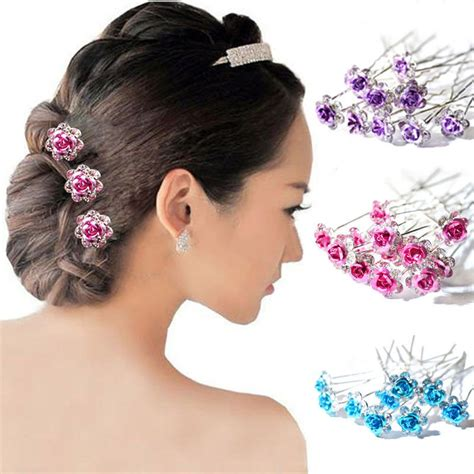 Wedding Hair Accessories Aliexpress by Bridal Flower Hair Accessories Www Imgkid The
