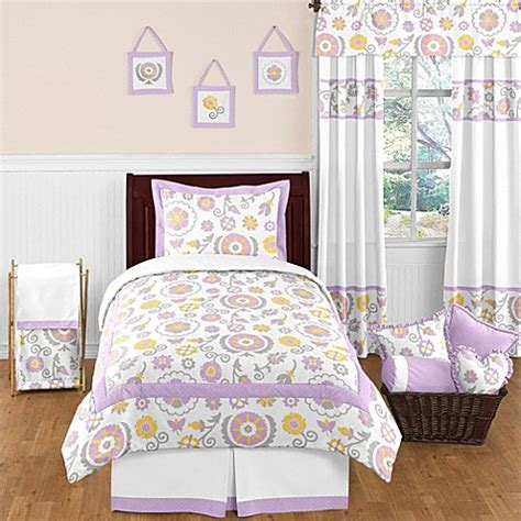 lavender twin bedding sweet jojo designs suzanna bedding collection in lavender