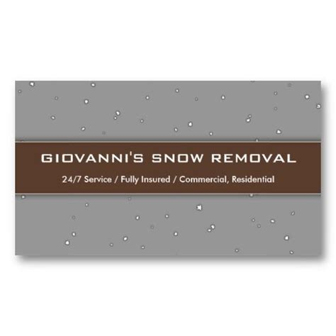 1000 Images About Snow Removal Business Cards On Pinterest Trucks Business Card Templates And We Snow Plowing Business Card Template