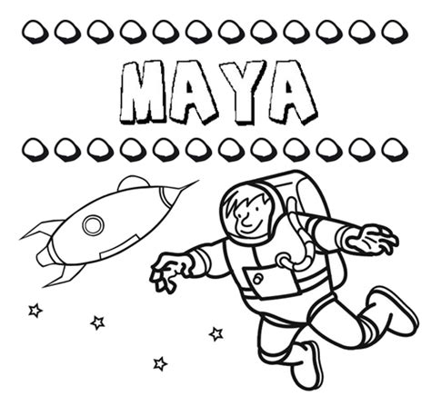 imagenes mayas para pintar dibujo con el nombre maya para colorear pintar e imprimir