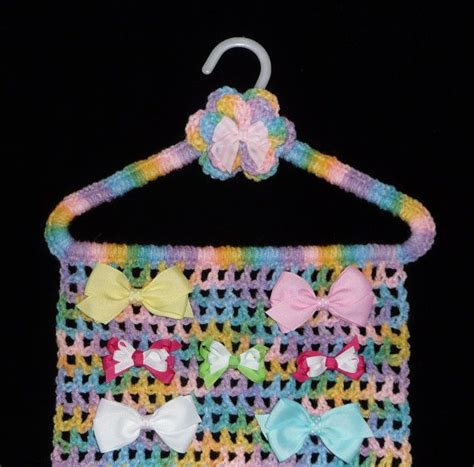 pattern for bow holder 17 best images about hangers to crochet on pinterest