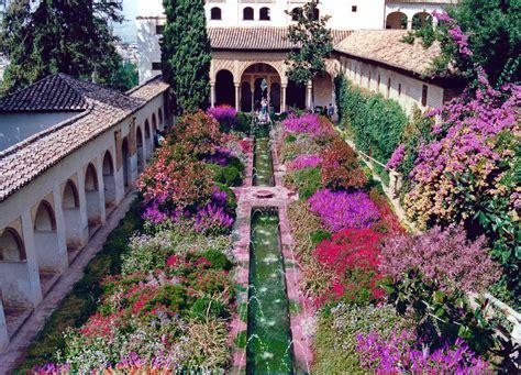El Patio De Town by Patio De La Acequia Palacio Generalife La Alhambra D