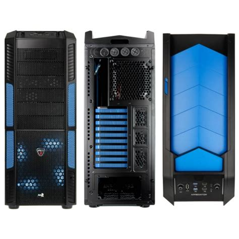 Aerocool Casing Komputer Xpredator Evil Blue Window aerocool xpredator big tower with window evil blue gesi 154 from wcuk